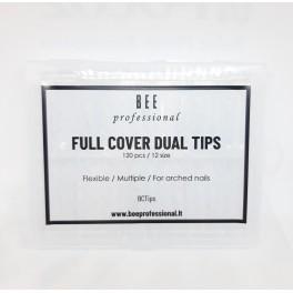 Full Cover Dual Tips/ Pilno dengimo viršutinės formelės